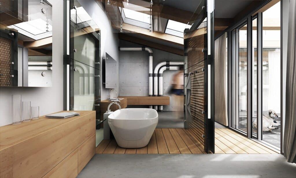ห้องน้ำ ลอฟท์
