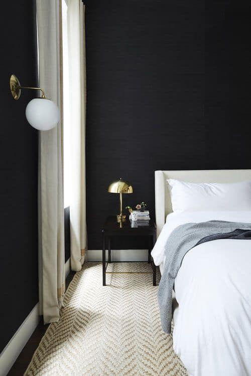 ห้องนอนสีดำ