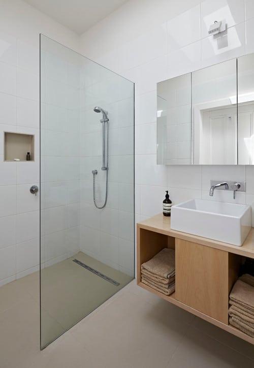 bathroom dry wet