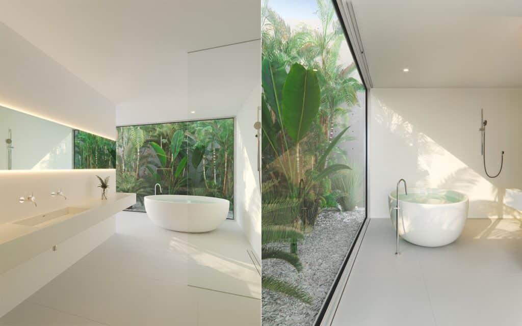 ห้องน้ำแบบโมเดิร์น