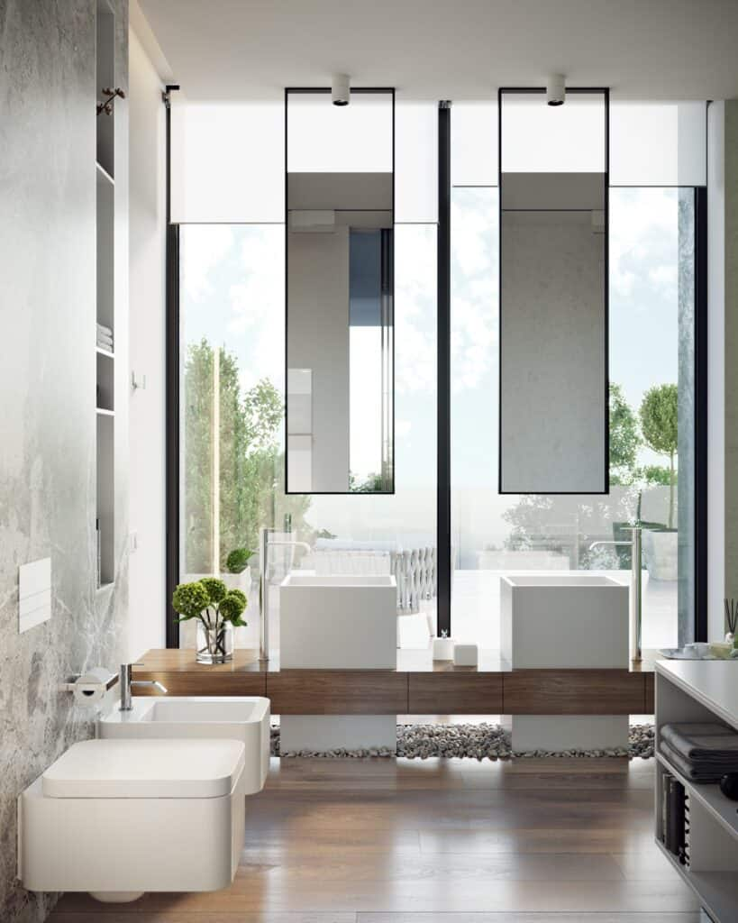 แบบห้องน้ำสวยๆสไตส์โมเดิร์น