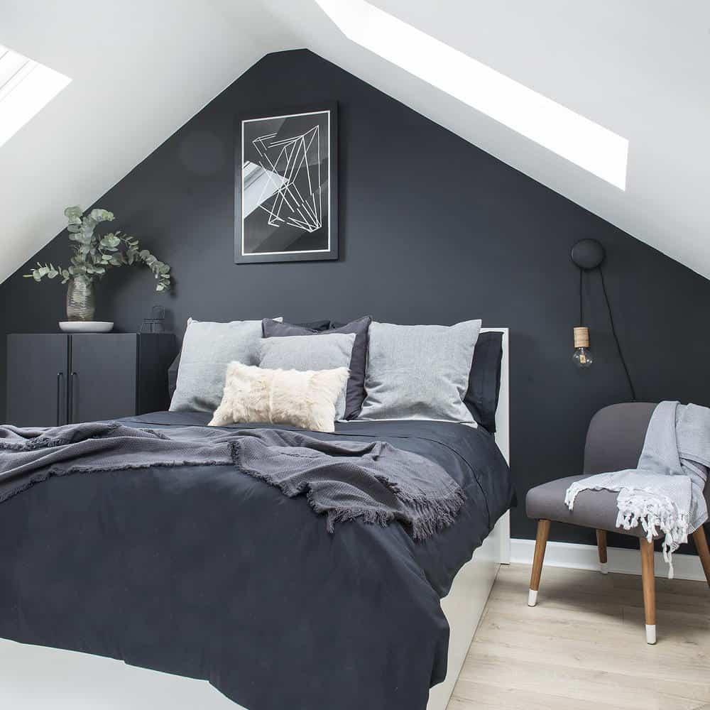 ห้องนอนสีดำคนเกิดวันพุธ