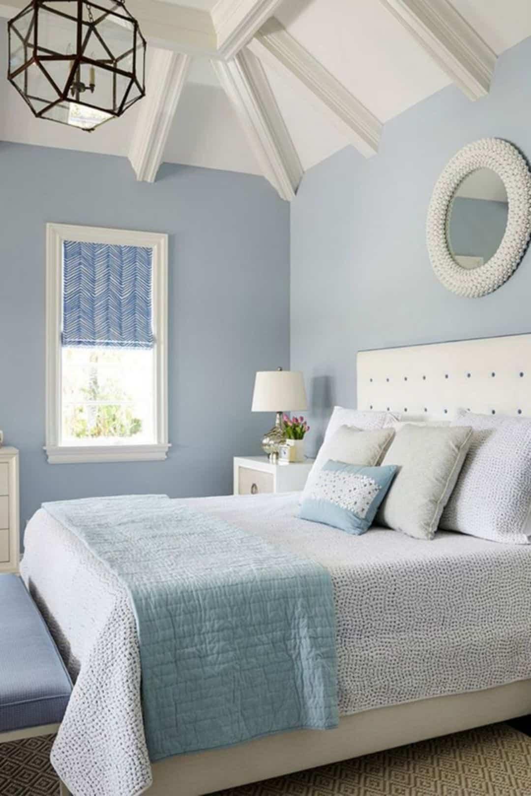 ห้องนอนสีฟ้าถูกโฉลก