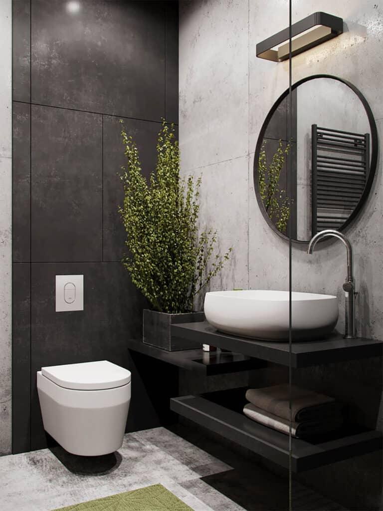 ห้องน้ำสีดำ
