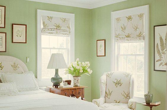 ห้องนอนสีเขียวสำหรับคนเกิดวันอาทิตย์