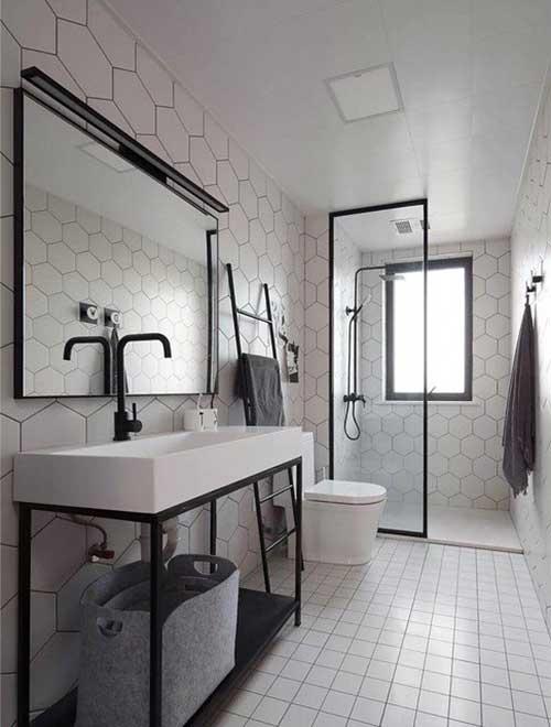 ห้องน้ำบ้านเล็กๆ
