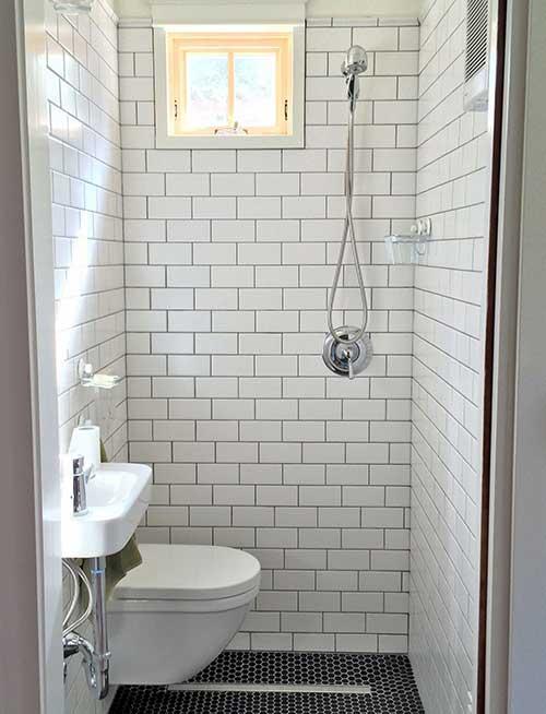 ห้องน้ำแคบๆ